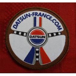Ecusson brodé Datsun-France