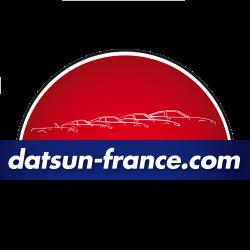 Autocollant logo Datsun-France