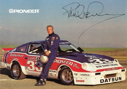 paul newman et sa datsun 280 par bob sharp racing