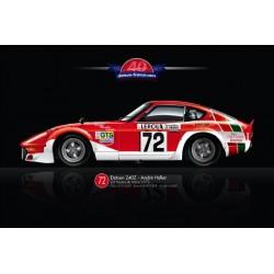Poster numéroté Le Mans...