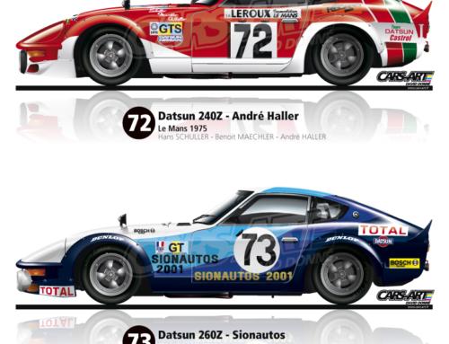 Nissan au 24h du mans 1975-76